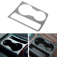 Chrom Interior Wasser becher halter platte Dekoration Ordnung für Audi A4 B8 A5