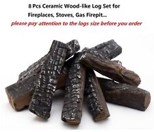 Decorative Fireplace Logs Stones Amp Glass Ebay