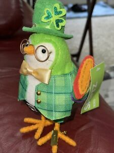 2020 Target Spritz St. Patrick's Day Bird Laddie New With Tag  NWT Rare
