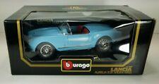 Burago 1/18 1955 Lancia Aurelia B24 Spider Baby Blue