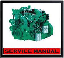CUMMINS QSK19 QSK 19 SERIES DIESEL ENGINE WORKSHOP SERVICE REPAIR MANUAL IN DVD