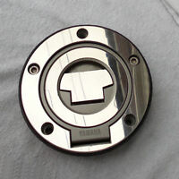 YAMAHA MIRROR POLISH STAINLESS STEEL PETROL FUEL CAP COVER XJR07on R1 R6 FJR P03
