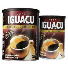 [Sale] IGUACU Dried Instant-Coffee Powder From Brazil 200g x 1 in Can-tin