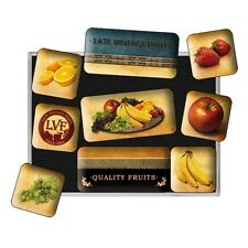 Nostalgie Magnet-Set - Quality Fruits