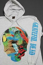 XL * NOS vtg 90s 1993 GRATEFUL DEAD Brockum HOODIE L/S t shirt