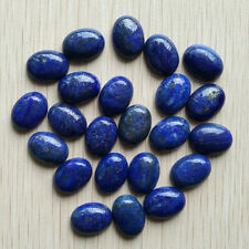 Wholesale 30pcs/lot Natural Lapis Lazuli Oval CAB CABOCHON stone beads 12*16mm