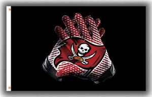 Tampa Bay Buccaneers Football Team Gloves Flag 90x150cm 3x5ft Fan best banner