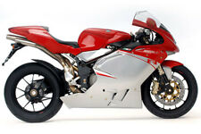 MV AGUSTA F4  TOUCH UP KIT ALL YEARS RED AND SILVER.