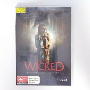 The Wicked Movie DVD Free Postage Region 4 AUS - Horror