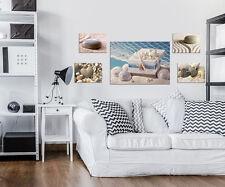 SET (5 teilig) CANVAS Leinwand Poster Bilder Strand Meer Sand Stein 3FX10274S14