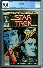 STAR TREK 1 CGC 9.8 WHITE PAGES KIRK SPOCK NEW CGC CASE Marvel Comics 1980