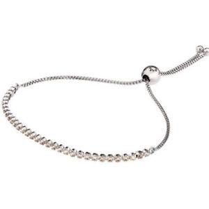 Genuine Pandora Golden Sparkling Strand Bracelet Adjustable Size 2 590524CCZ-2