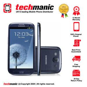 Samsung Galaxy S3 III GT-I9300 - 16GB - Pebble Blue (Unlocked) Smartphone
