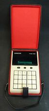 Vintage Rare Friden 1200 VFD 8 Digit Calculator w/ Case Singer Sewing Machine Co