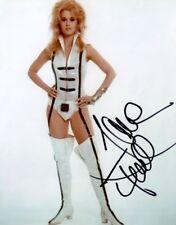 JANE FONDA IN PERSON SIGNED PROMO PHOTO FROM THE 1968 CULT FILM BARBARELLA