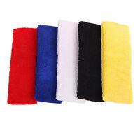 Great Sport Headband Elastic Cotton GYM Tennis HeadBand Basketball Poab C0