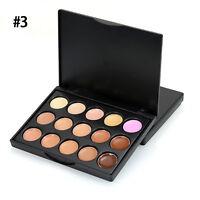 15 Colour Set Makeup Cream Contour Contouring Concealer Foundation Palette