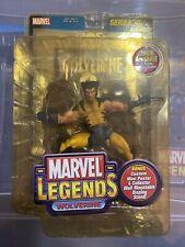 Marvel Legends Series III 3 unmasked Wolverine Foil Poster Variant MIP