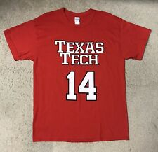 Texas Tech Red Raiders NCAA Basketball Andre Emmett #14 Shirt Size Large