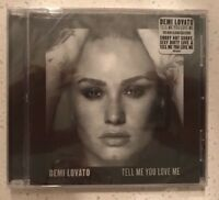 Tell Me You Love Me * by Demi Lovato (CD, Sep-2017, Hollywood) NEW!!!
