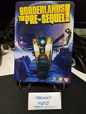 Borderlands the Pre Sequel Exclusive Limited Collector's Steel Metal Case Book
