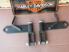 HARLEY DAVIDSON  SOFTAIL / FAT BOY 2000 & UP REAR AXLE BRACKETS
