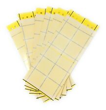 6x Large Yellow Sticky Insect Traps (24x10cm) Catch All Flying Greenhouse Pests
