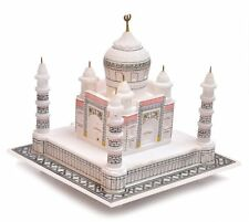 6'' Italian white marble tajmahal perfect finishing beautiful handicraft decorat