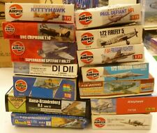 Huge Lot 1/72 Old Revell and  Airfix Model Kits (14) Open Box