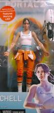 NECA 2013 Portal 2 Chell Action Figure with LED Held Portal Device