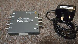 Blackmagic Design SD/HD Up Down Cross (UpDownCross) Mini Converter & PSU, Tested