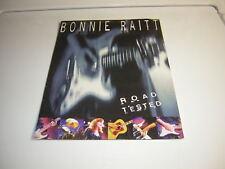 BONNIE RAITT PRESS KIT 1995 PRESS PROMO PHOTO W/BIO FOLDER 1995 ROAD TESTED