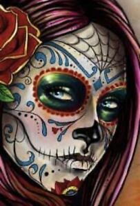 DAY OF THE DEAD (8) CROSS STITCH KIT