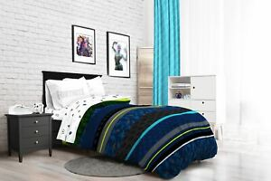 "Fortnite ""Neon Stripe"" Kids Bed-in-a-Bag Bedding Set w/ Reversible Comforter"