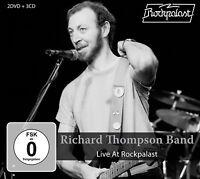 RICHARD THOMPSON - LIVE AT ROCKPALAST 1983 & 1984 +2DVD 4 CD+DVD NEW!