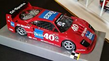 POLICAR Slot Car 1:32 FERRARI F40 GTO 1990 NEW RED Scalextric Poli Car Imsa