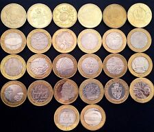 Circulated £2 Two Pound Coins British Coin Hunt Hard to Find 1986 - 2019