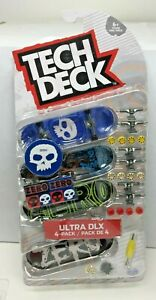 TECH DECK ZERO ULTRA DLX 4-PACK - NEW IN HAND - SG6