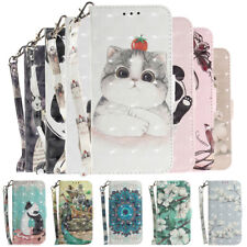 For Huawei nova 7i 6SE 5T 5i 4e Magnetic Pattern Leather Case Flip Wallet Cover