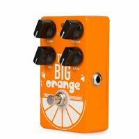 Caline CP-54 THE BIG ORANGE Crushing Overdrive Guitar Effect Pedal Aluminum L6Q4