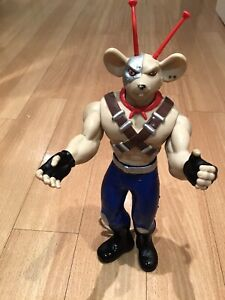 "Large Biker Mice From Mars Figure  Vinnie 12""  Very Rare ⭐️1994 Galoob"