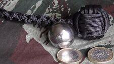 """Monkey'S Fist ø25mm Bille Acier STEEL BALL""""Self Defense""""Survie"""""""