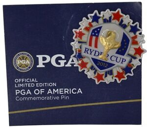 2012 RYDER CUP (Medinah) BOBBLE COMMEMORATIVE PIN