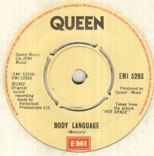 """QUEEN Body Language 7"""" VINYL"""