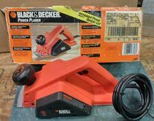 3-1/4 in. Planer Black & Decker 7696 4.5 amp Power Tool High-Torque Motor