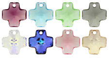Genuine SWAROVSKI 6866 Cross Pendant 20mm - Many Colors