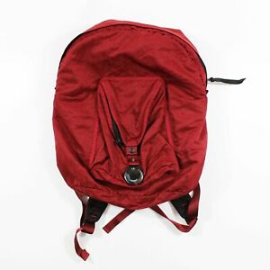 CP Company Red Garment Dyed Backpack