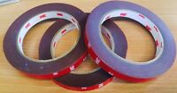 3M Genuine Double-sided Acrylic Foam Adhesive Tape 4229P Auto 12mm x 3mtr