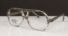 Vintage Pride translucent gray Eyeglasses Frames 48-16-135