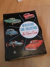 Vintage Mattel Miniature Car Collectors Show Case
